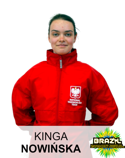 Nowińska Kinga Taekwondo Toruń